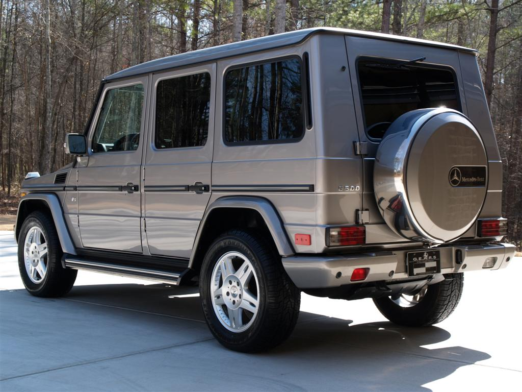 2004 mercedes benz g500 g wagon premium g e a r s for 2004 mercedes benz g class