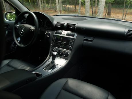 mercedes benz c230 2005 car interior design. Black Bedroom Furniture Sets. Home Design Ideas
